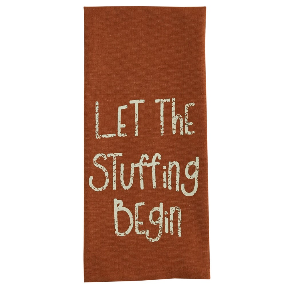 Park Designs Dish Towel - Let The Stuffing Begin