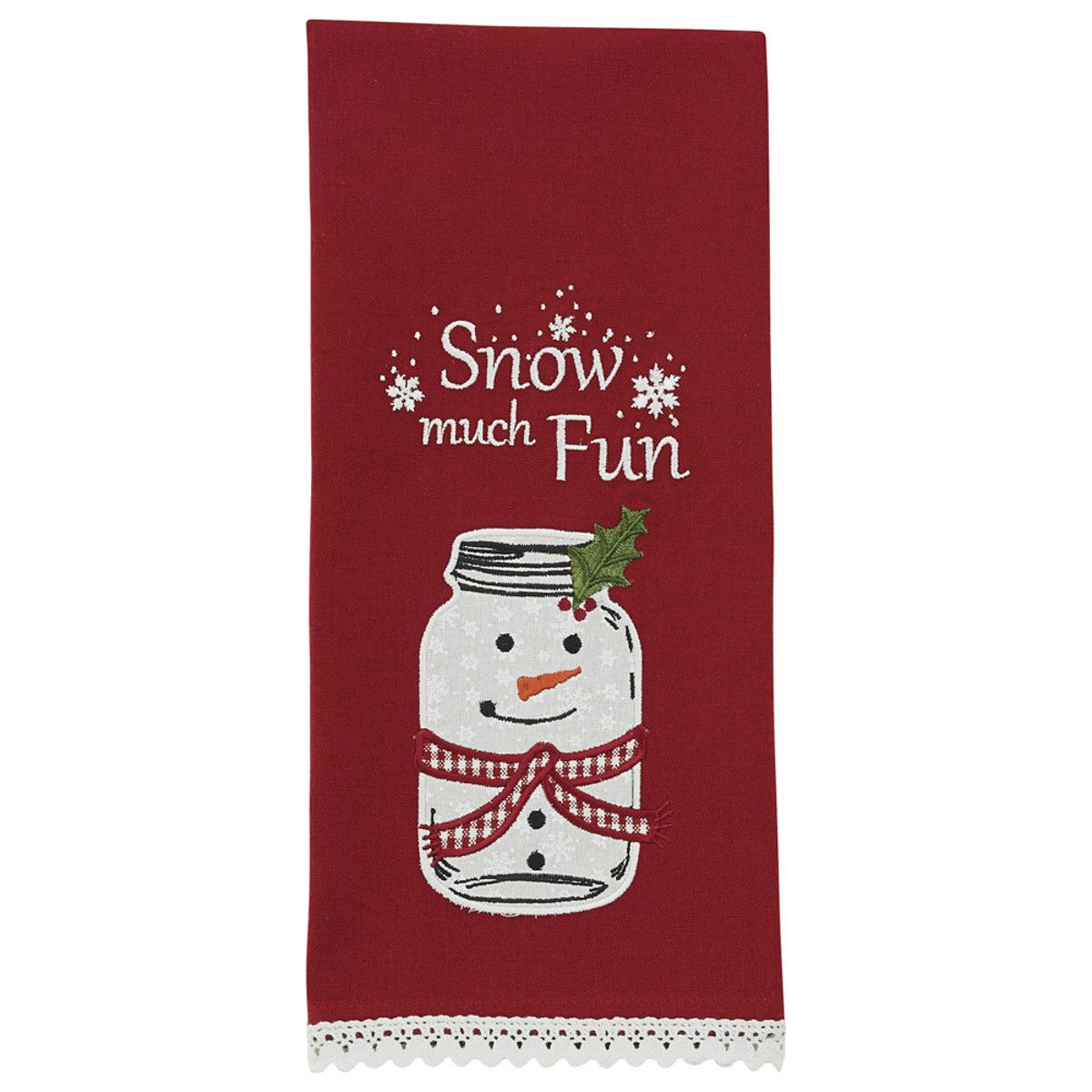 Park Designs Dish Towel - Snow Much Fun