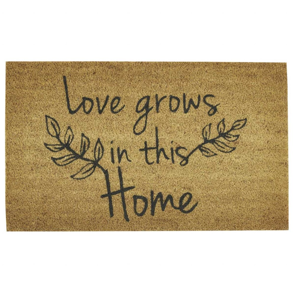 Park Designs Doormat - Love Grows In This Home - 16in x 30in