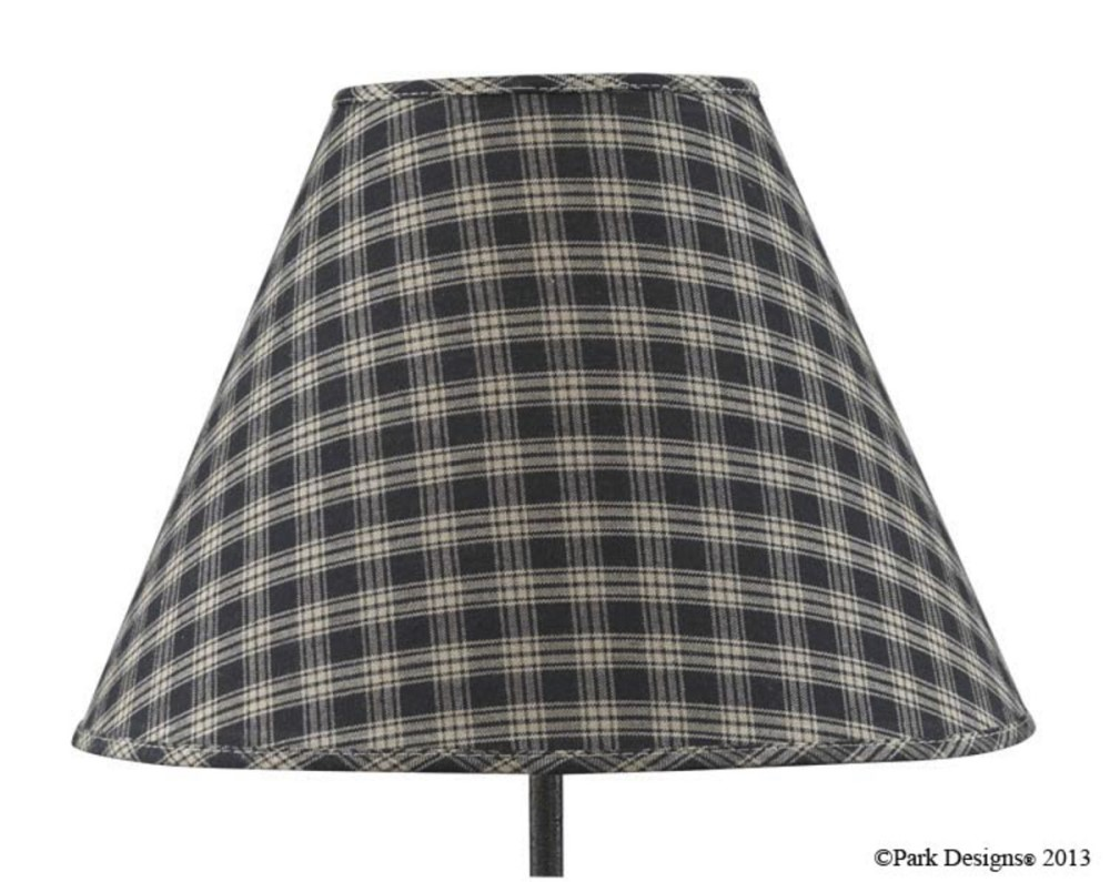 Park Designs Lamp Shade - Sturbridge Black - 14in