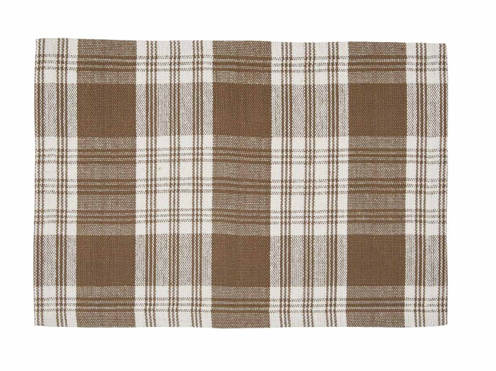 Park Designs Placemat - Dylan Taupe - 13in x 19in