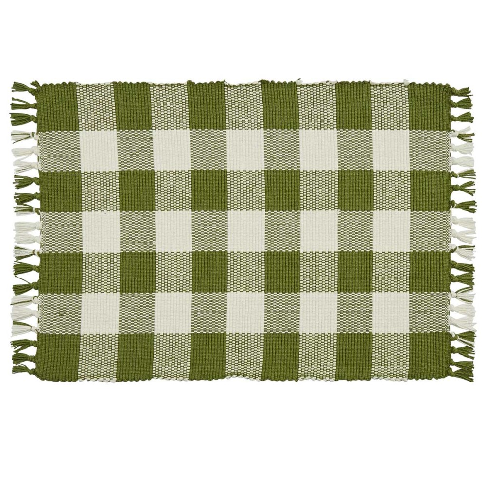 Park Designs Placemat - Wicklow Check Sage - 13in x 19in