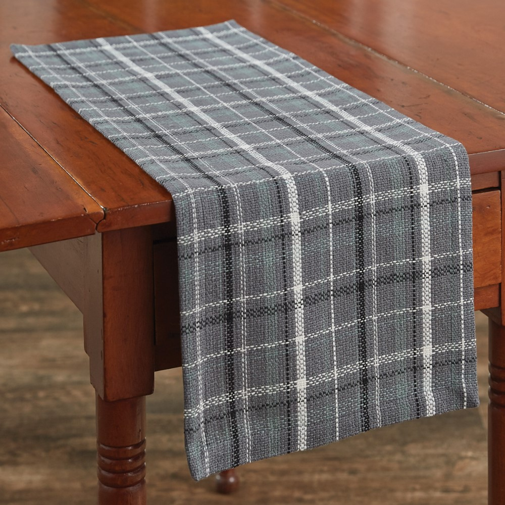 Park Designs Runner - Beaumont Plaid - 13in x 36in