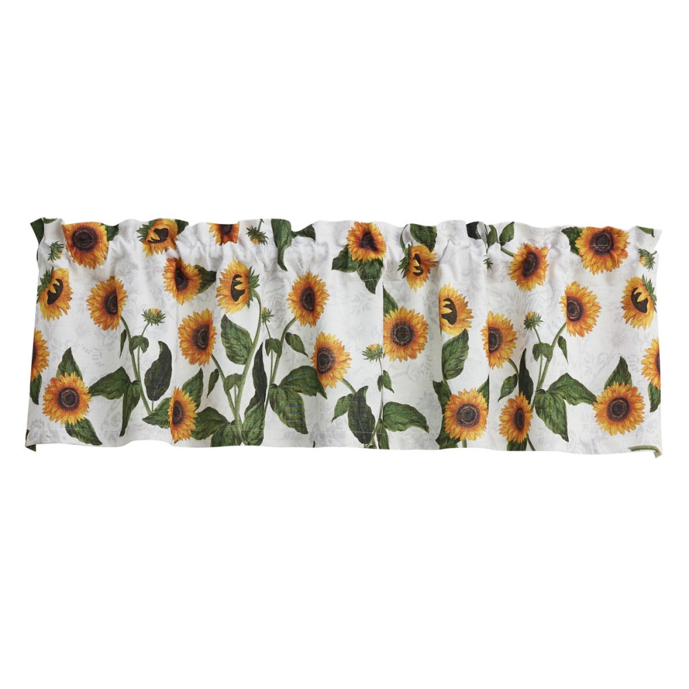 Park Designs Valance - Sunflower Toile - Unlined - 60in x 14in
