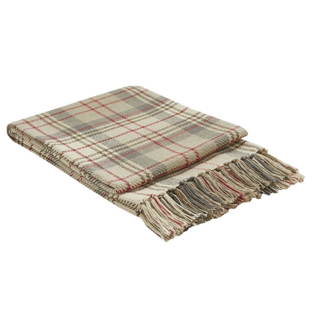 Park Designs Woven Throw Blanket - Gentry - 50in x 60in