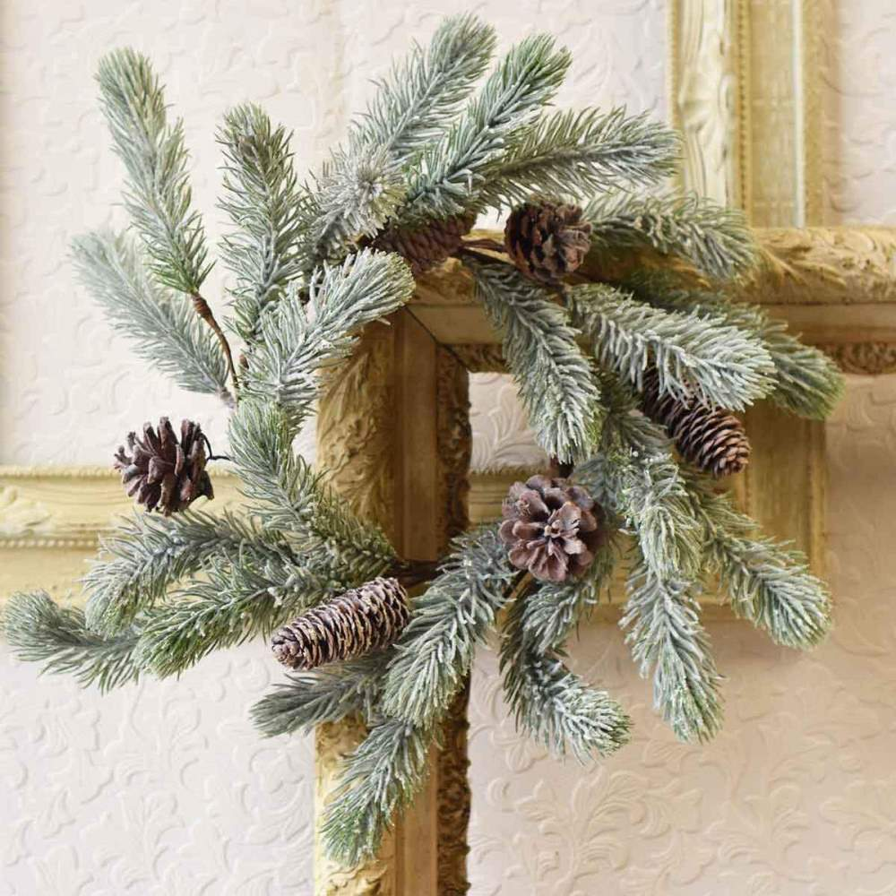 Pine Candle Ring - Scots Pine - 6.5 Inch