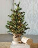 Pine Twig Tree - Table Top Christmas Tree - 2 Foot