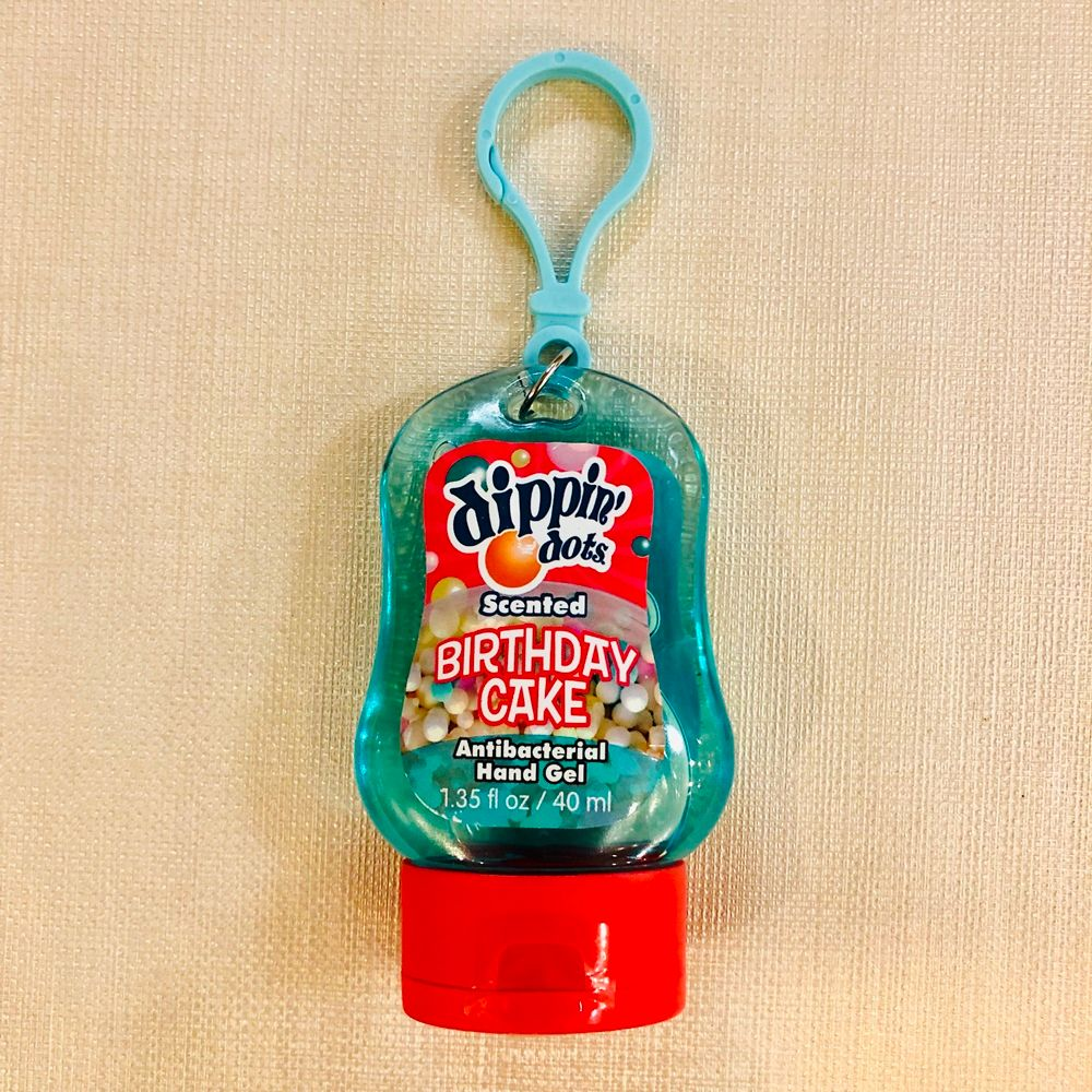 Pocket Hand Sanitizer - Scented - Dippin Dots - Birthday Cake - 40mL