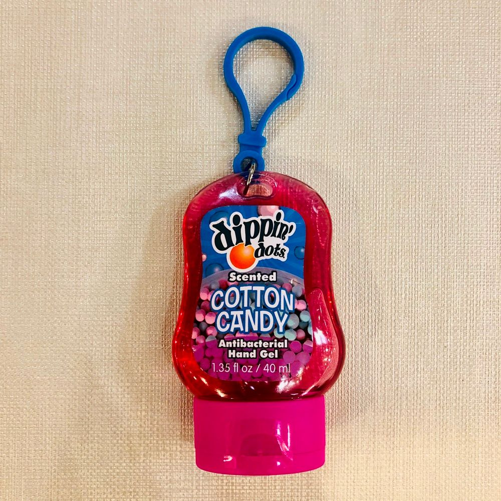 Pocket Hand Sanitizer - Scented - Dippin Dots - Cotton Candy - 40mL