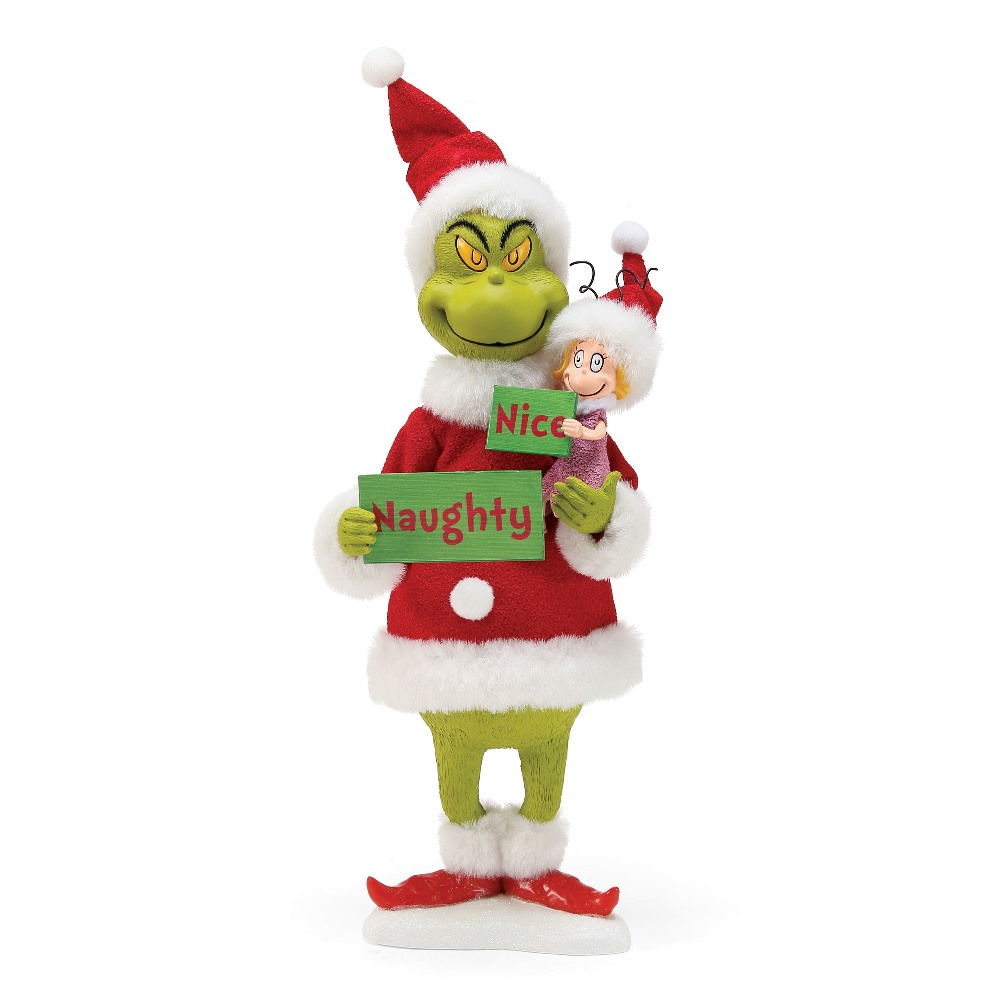 Possible Dreams Santa - Grinch - Naughty or Nice 2018