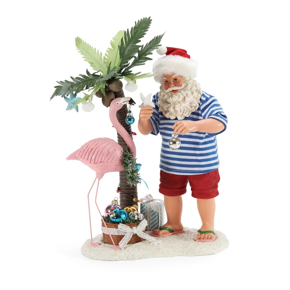 Possible Dreams Santa - Flamingle 2020