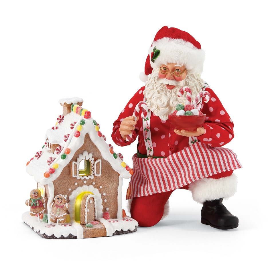 Possible Dreams Santa - Gingerbread House Kit 2020