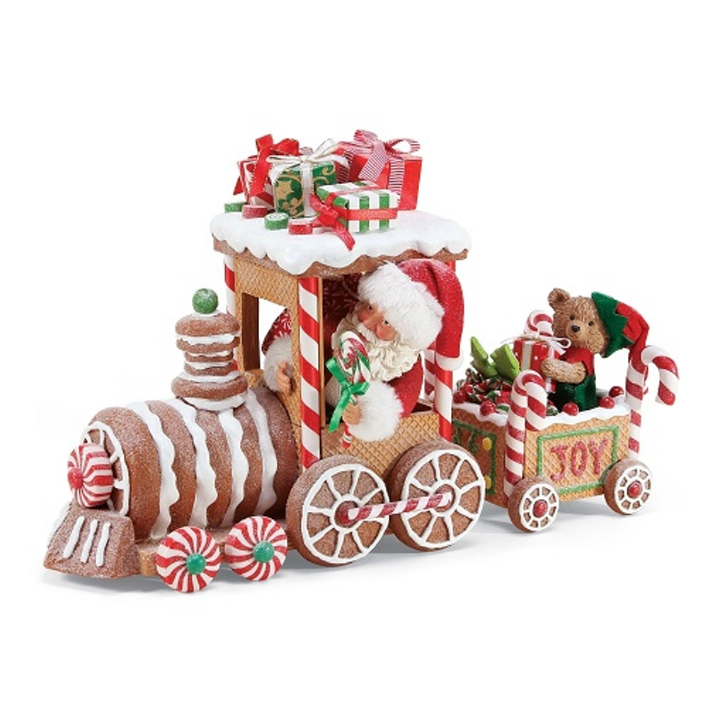 Possible Dreams Santa - Gingerbread Train 2019