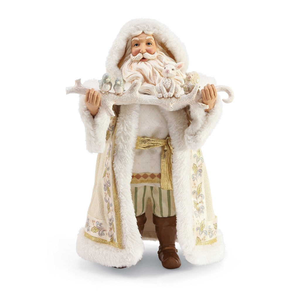 Possible Dreams Santa - Jim Shore Winter White Limited Edition 2019