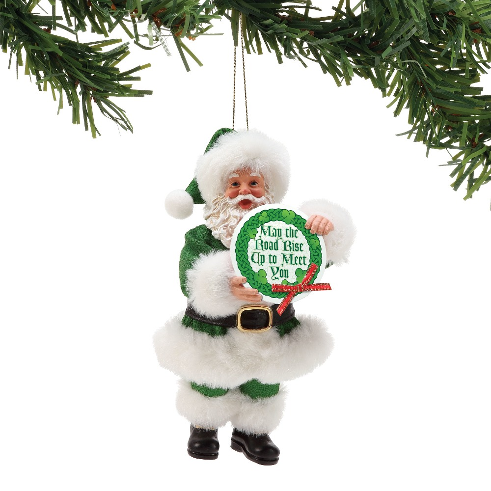 Possible Dreams Santa Ornament - May The Road 2018
