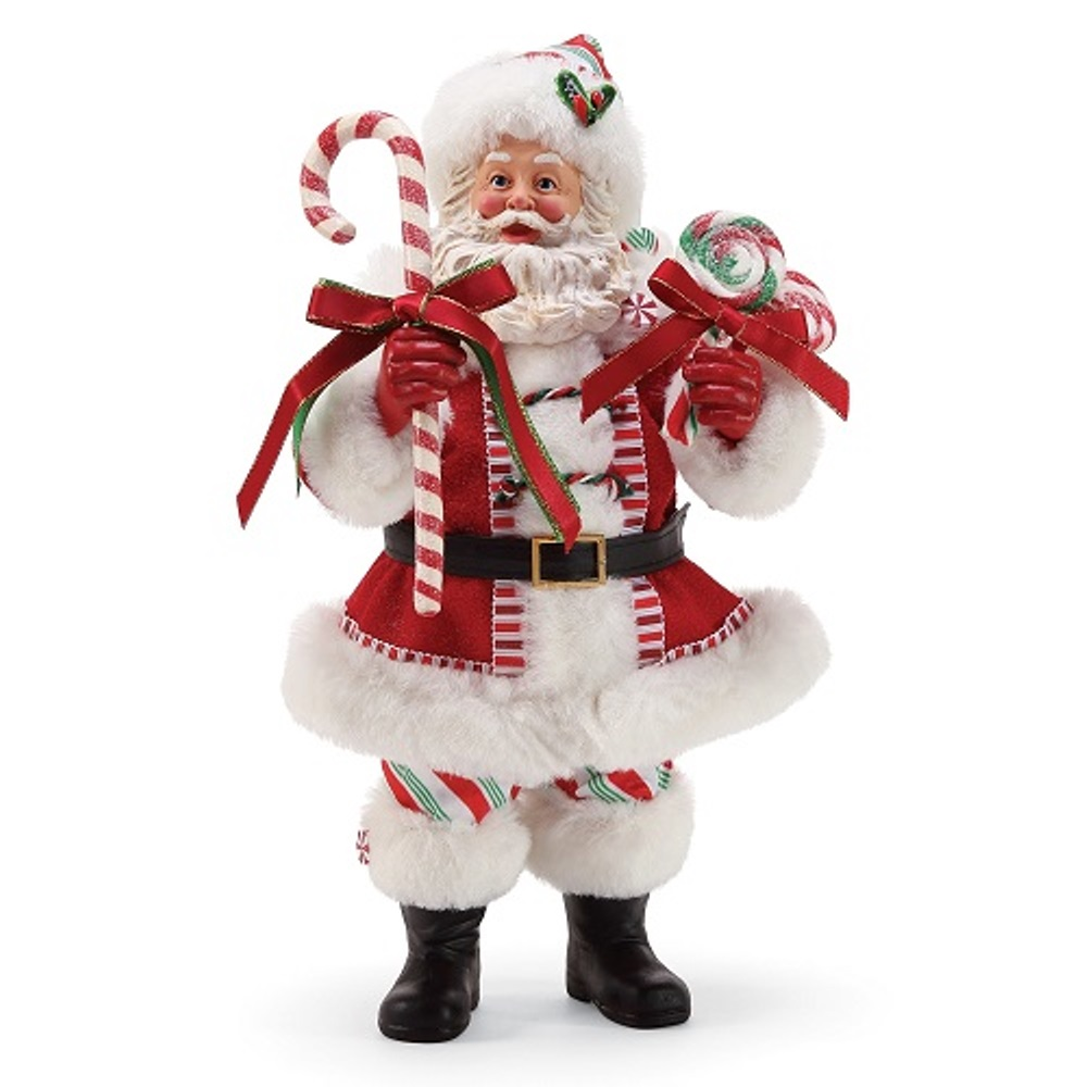 Possible Dreams Santa - Peppermint Santa 2019