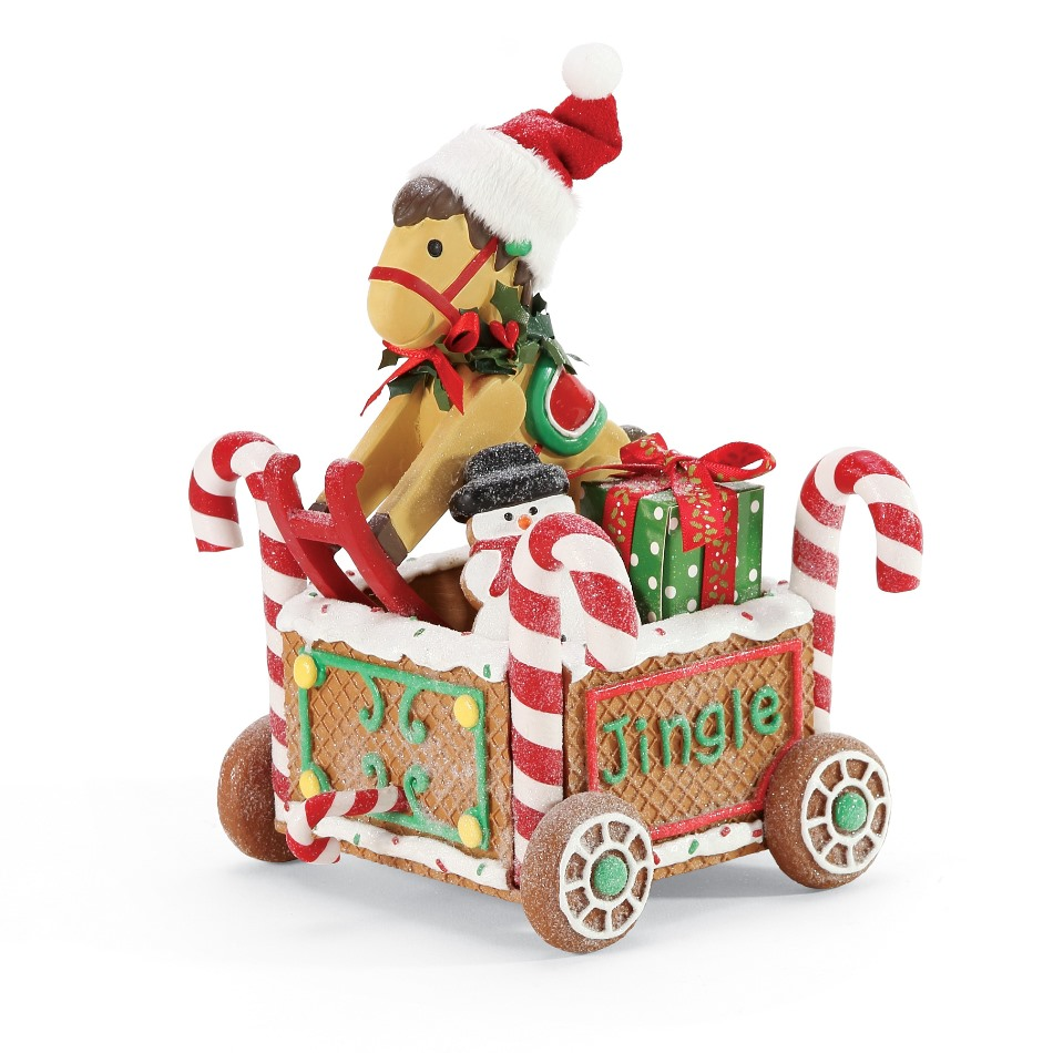 Possible Dreams Santa - Rocking Horse Train Car 2020
