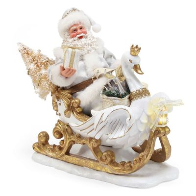 Possible Dreams Santa - White Christmas Limited Edition 2018