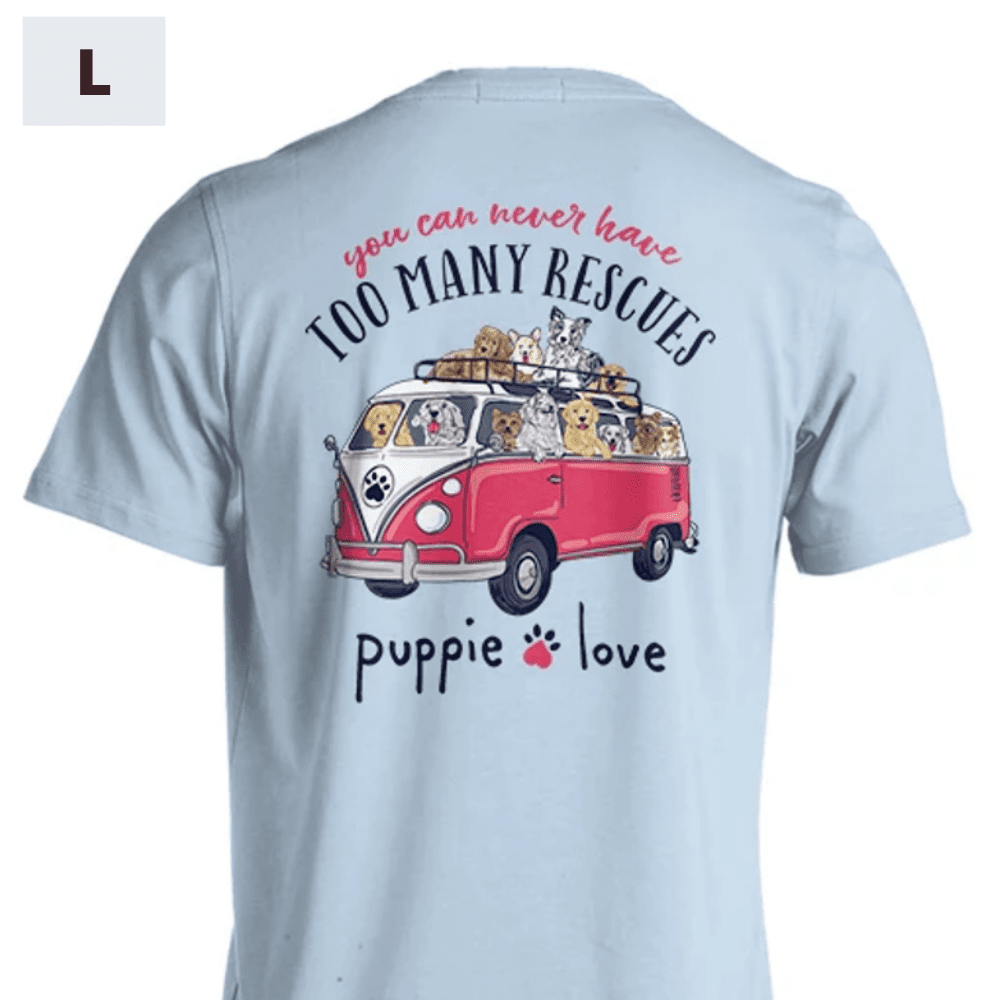 Puppie Love Shirt - Rescue Bus - L