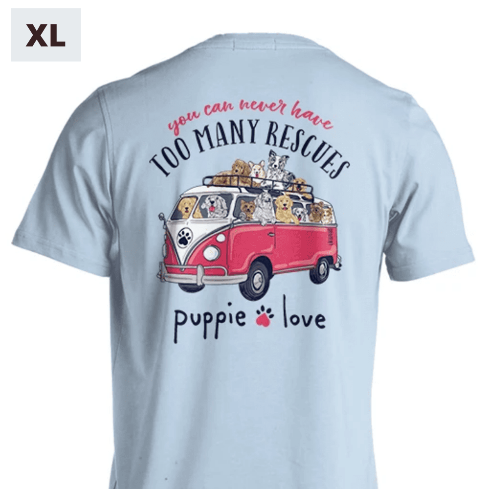 Puppie Love Shirt - Rescue Bus - XL