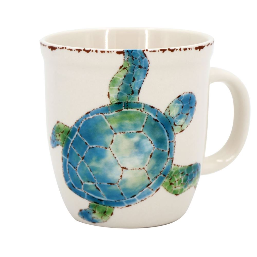 Sea Turtle Coffee Mug - Ceramic - 12oz
