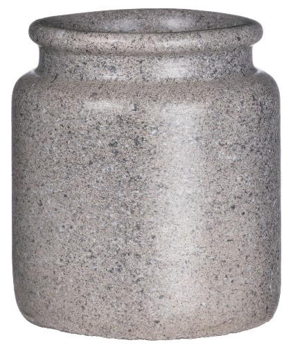Simple Chic Flower Pot - Cement - 7in