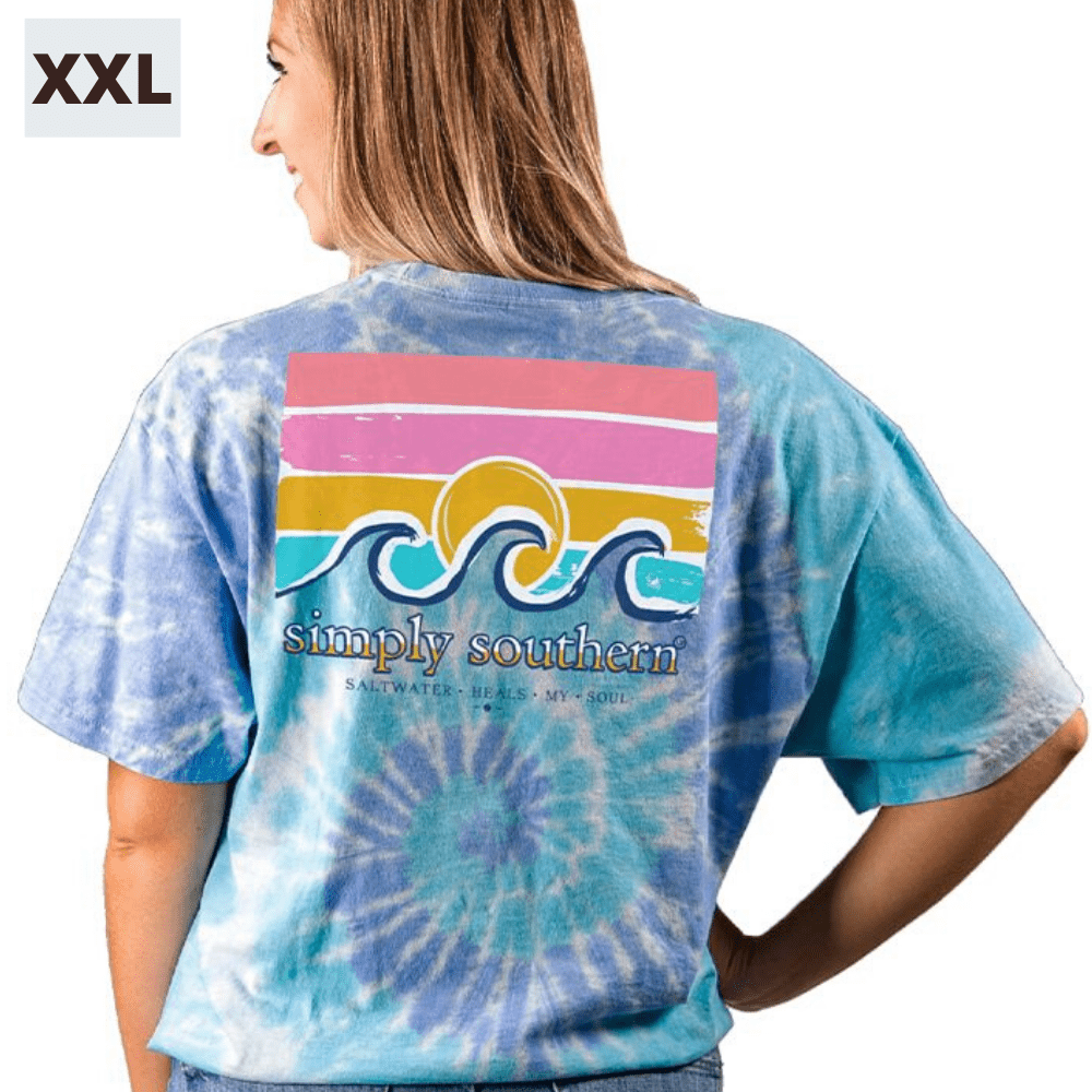 Simply Southern Shirt - Saltwater Tide - XXL