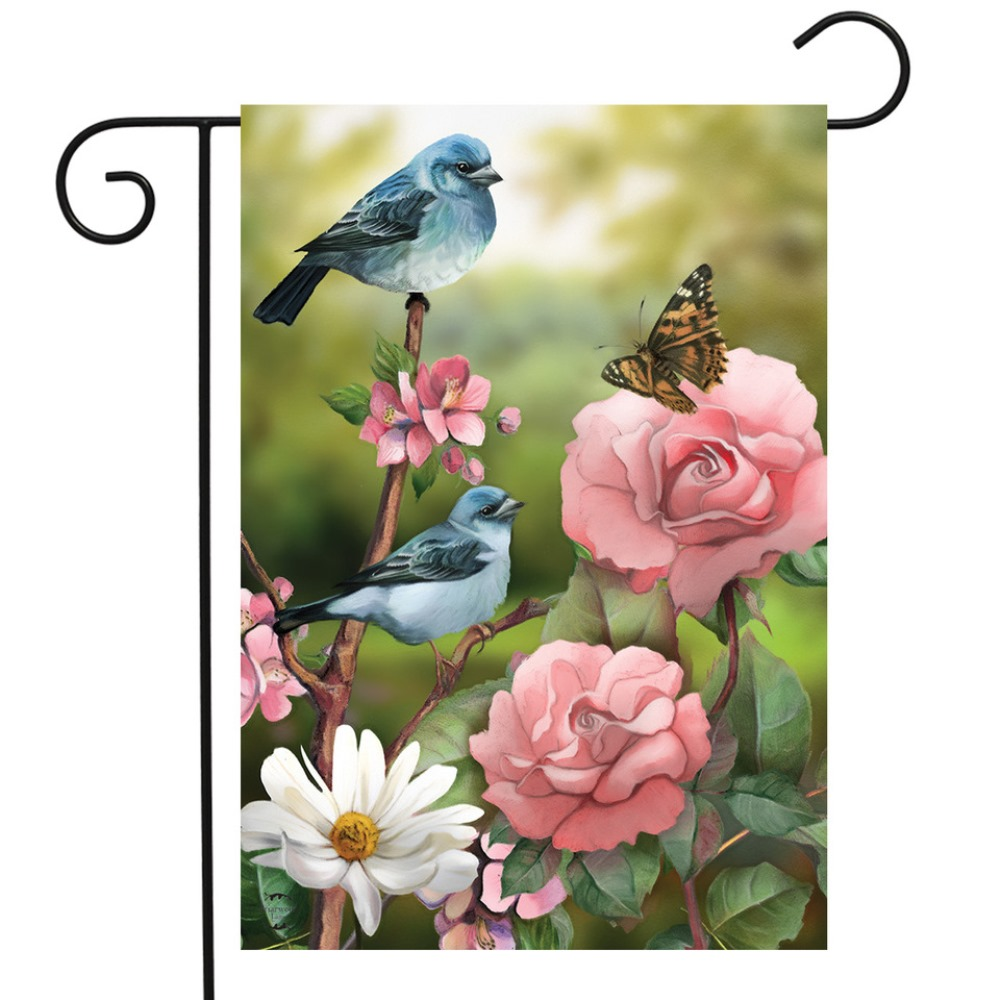 Small Garden Flag - In the Garden - 12.5in x 18in