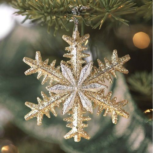 Snowflake Ornaments - Seasonal Christmas Ornaments