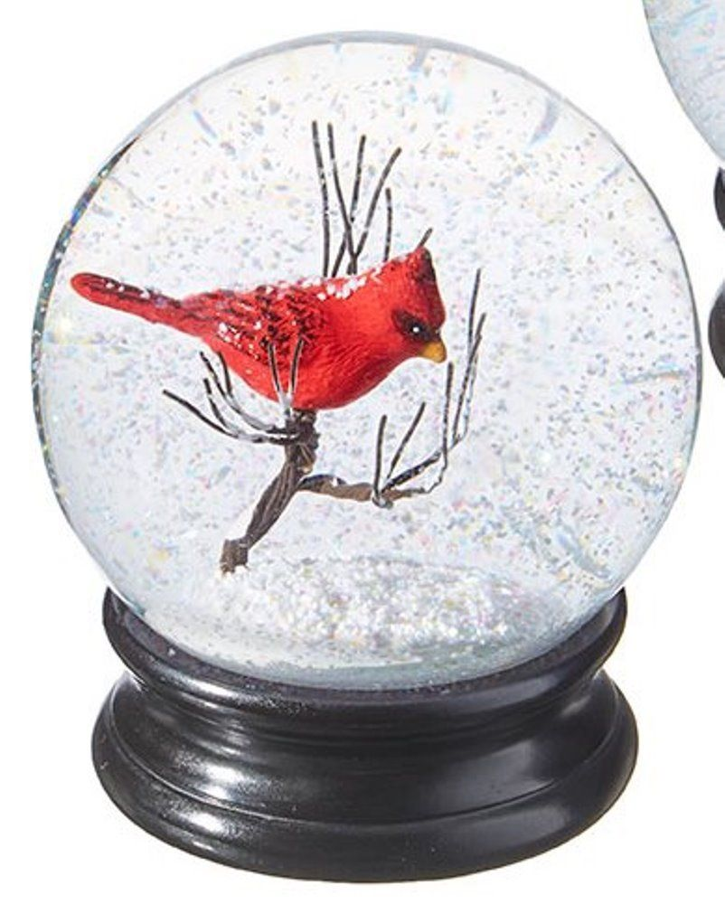 Snowglobe - Large Red Cardinal - 4.5in