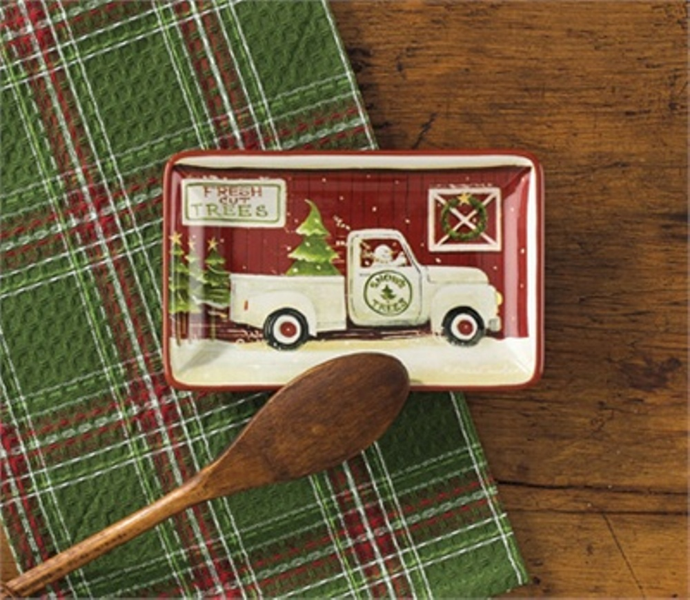 Park Designs Spoon Rest - Christmas Vacation - 7in
