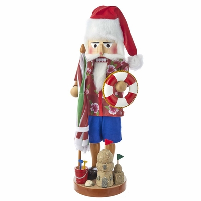 Steinbach Nutcracker - Beach Santa - 2nd in the North American Santa Series