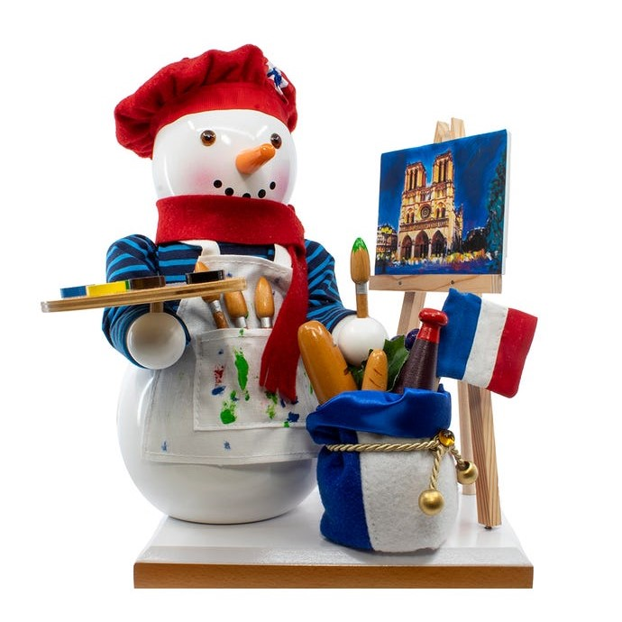 Steinbach Nutcracker - French Snowman 2020 - 6th in Series