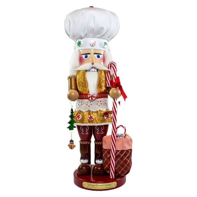 Steinbach Nutcracker - Gingerman Chef Santa 2020 - 4th in Series