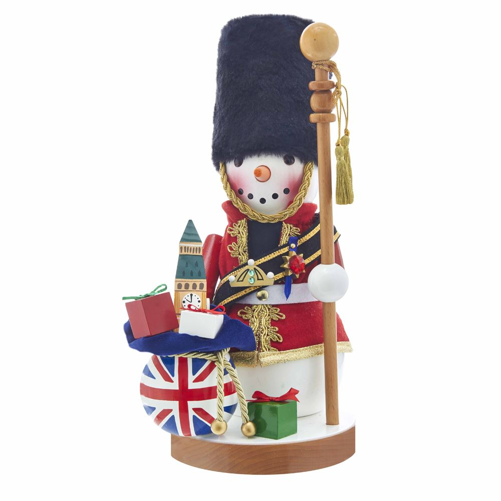 Steinbach Nutcracker - Great Britain Snowman - 3rd in Series