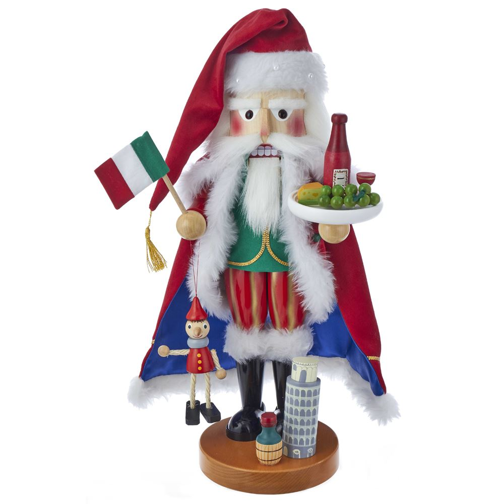 Steinbach Nutcracker - Italian Santa - 5th in Series