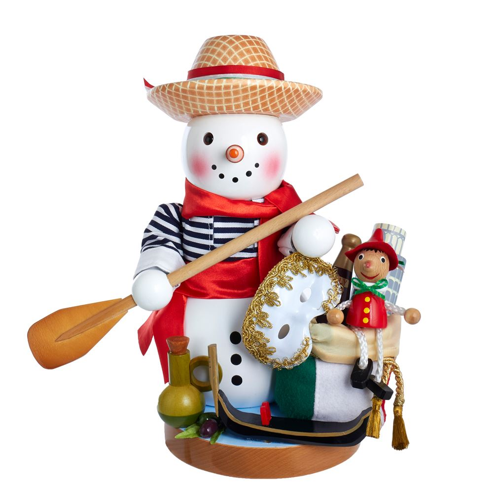 Steinbach Nutcracker - Italian Snowman 2019 - 5th in Series