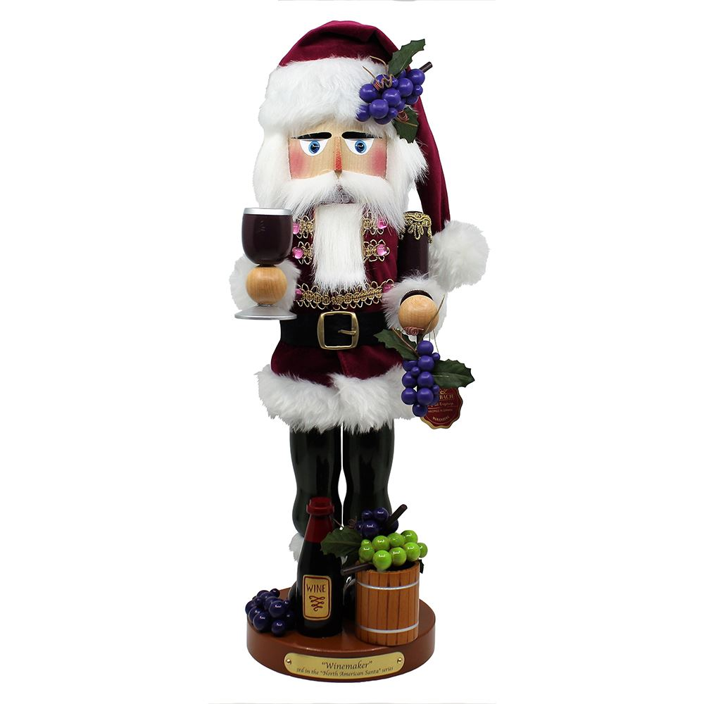 Steinbach Nutcracker - Wine Maker Santa 2019