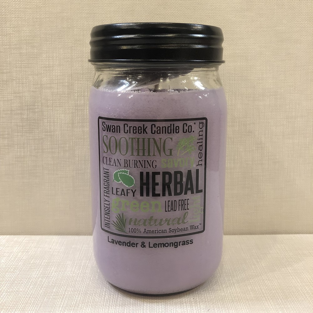 Swan Creek Candle - Lavender & Lemongrass - 24oz