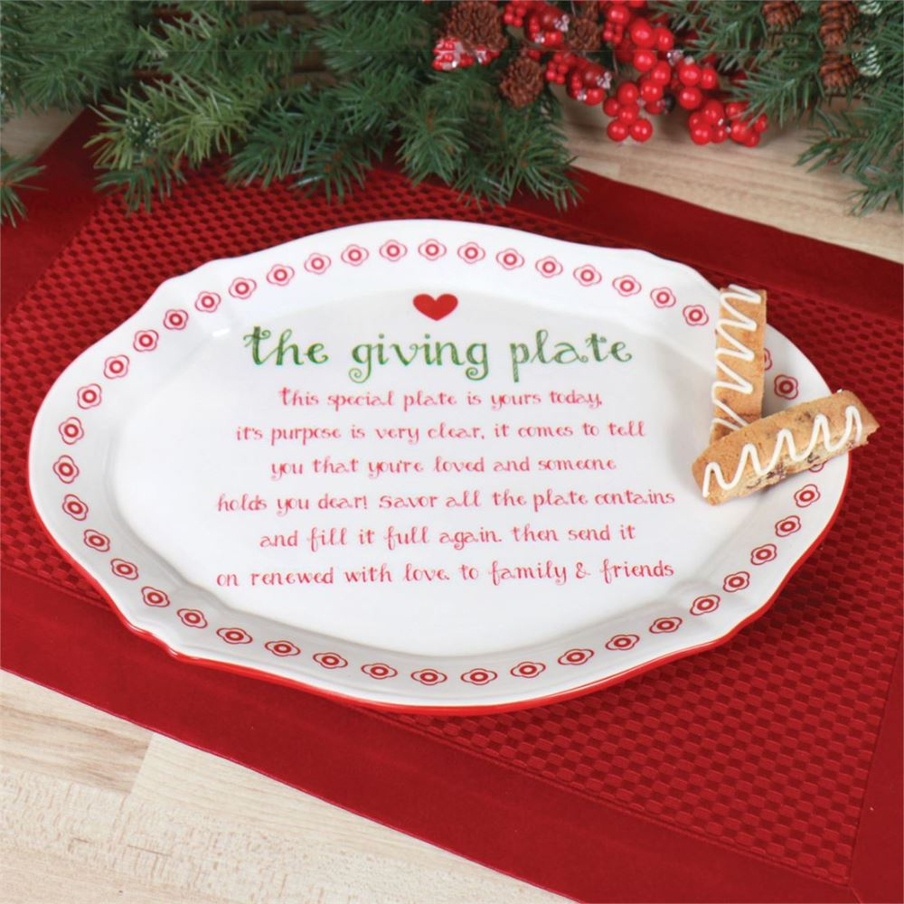 The Giving Plate - Tradition - Family & Friends - 12in