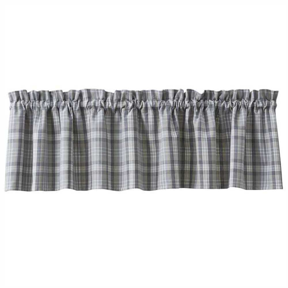 Unlined Window Valance - Hartwick - 72in x 14in