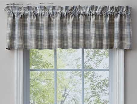 Unlined Window Valance - Prairie Wood - 72in x 14in