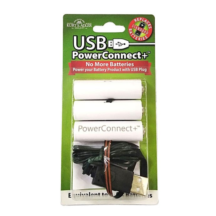 USB PowerConnect+™ 3 AA Converter - Convert Battery to Electric