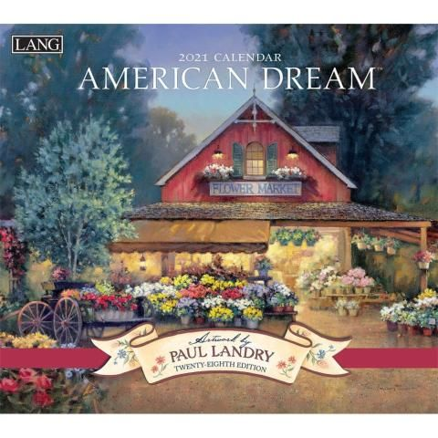 Lang Calendar - 2021 - American Dream - Paul Landry