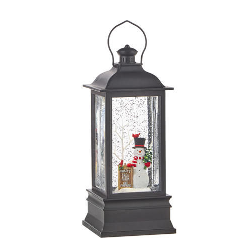 Water Lantern - Frosty's Tree Farm Musical - Battery Operated - 8.75in