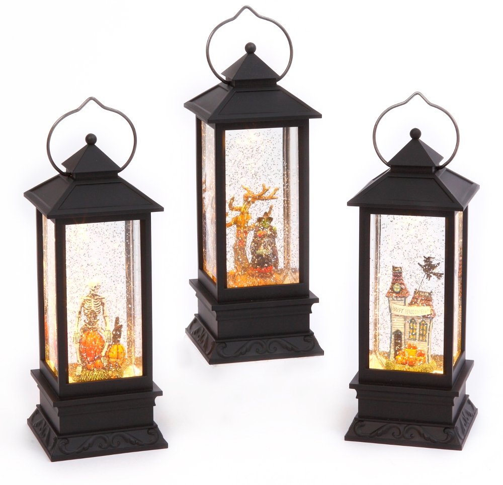 Water Lantern - Halloween - Battery Operated - 11 Inch