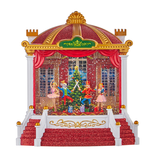 Water Lantern - Nutcracker Ballet Musical Theater - Battery Operated - 9.25in