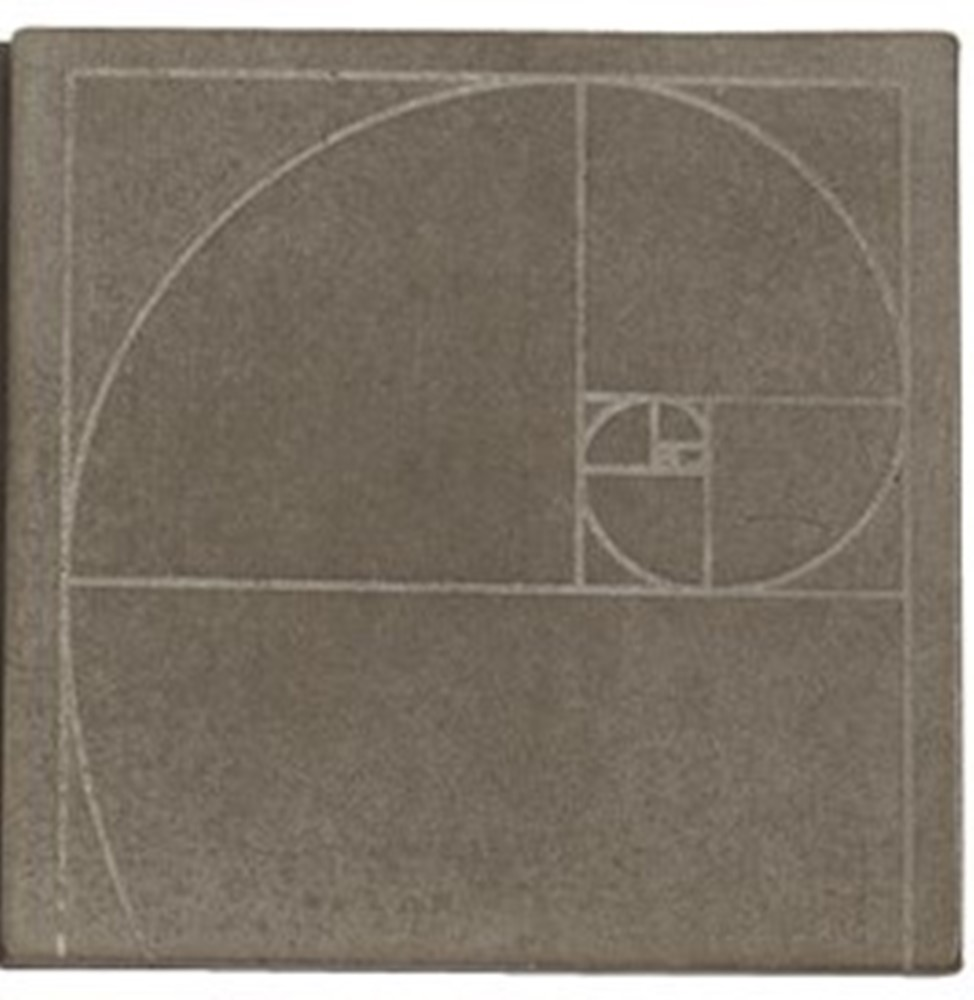 Wax Pottery Scented Geo Tile Base - Habersham - Nautilus - 4.5in
