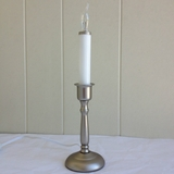 Window Candle - Chadd's Ford Electric Light - Pewter - ON/OFF Switch