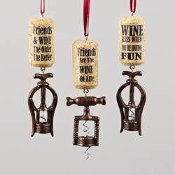 Wine and Spirits Ornaments � Alcoholic Beverages